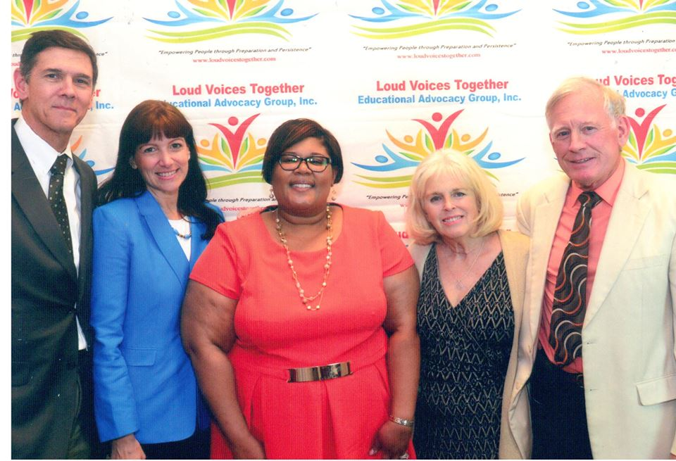 Wayne & Cheryl Steedman at Loud Voices Together, Educational Advocacy Group