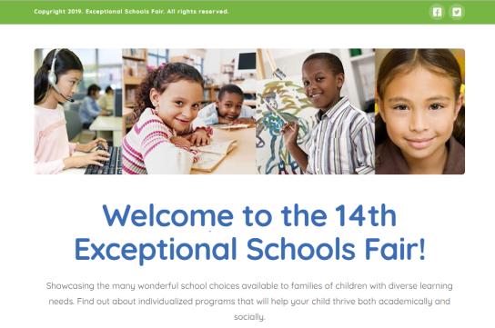 Exceptional Schools Fair